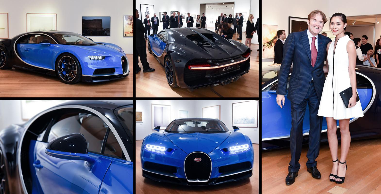 Bugatti > Chiron US Premiere