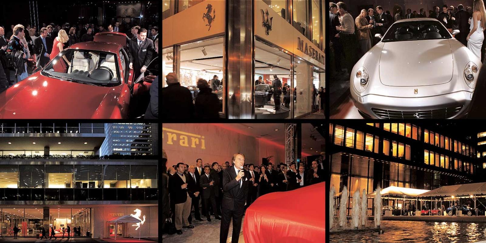 Ferrari Premiere NYC